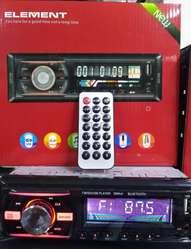 RADIO PARA CARRO CON BLUETOOTH ENTRADA USB SD RADIO FM Y AUXILIAR 75.000 CON GARANTIA