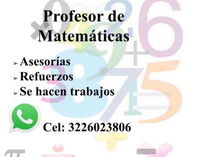 Profesor de Matemáticas Particular en Armenia