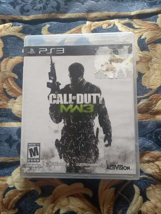 Call of duty MW3 para play 3