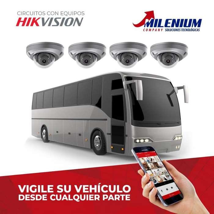 Cámaras de Vigilancia para Buses