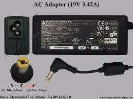 Adaptador Original Acer Delta SADP-65KB D