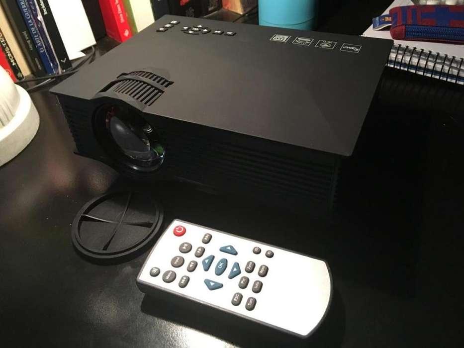 Proyector Portatil Uc46 WiFi 1200 Lumens 130 NUEVO