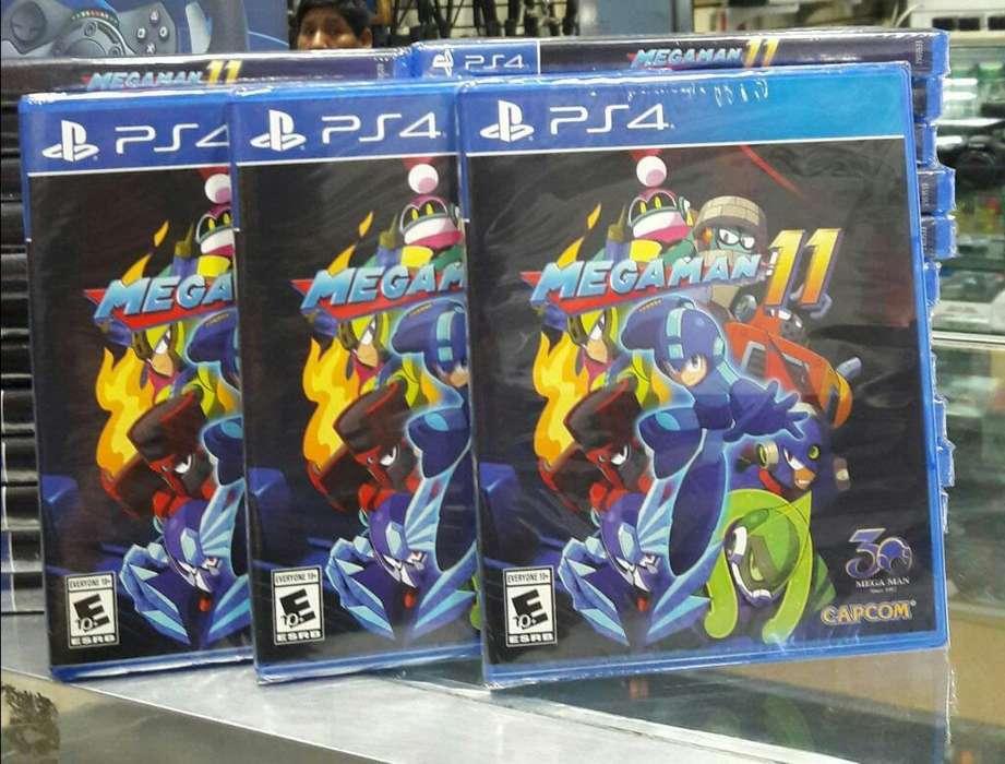 Megaman 11 Ps4 Nuevo Sellado Stock