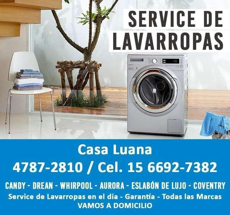 SERVICE DE LAVARROPAS WHIRPOOL. CANDY. DREAN casa luana capital y gran bsas // 4787.2810