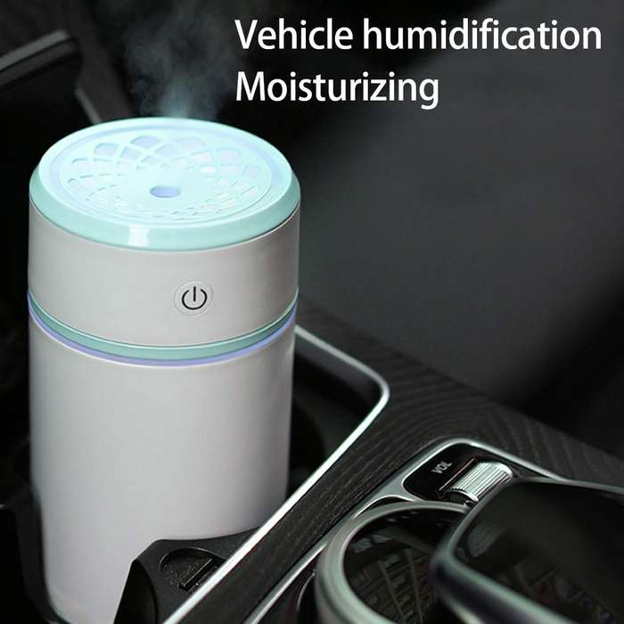 Difusor De Aroma Para Auto Pullout Himidifier Luz Led 200ml