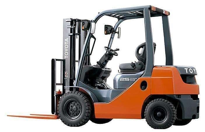 Montacargas TOYOTA 2.5 ton dual (Gasolina/GLP)