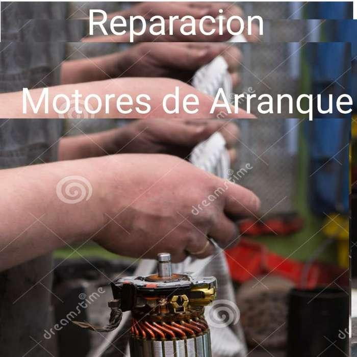 Reparacion Motores de Arranque