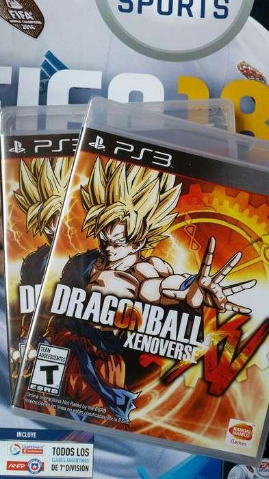 Dragon Ball Xenoverse Ps3 Sellado Stock