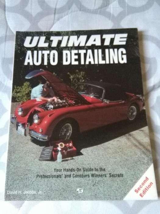 Ultimate Auto Detailing Libro Jacobs Jr. MOTORBOOKS USA