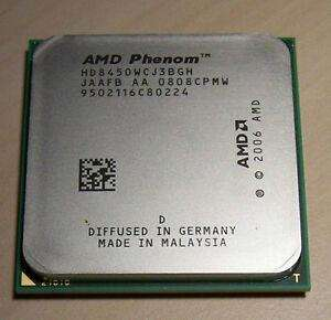 Vendo Procesador AMD Phenom X3 8450 (2.1GHz) AM2 y AM3