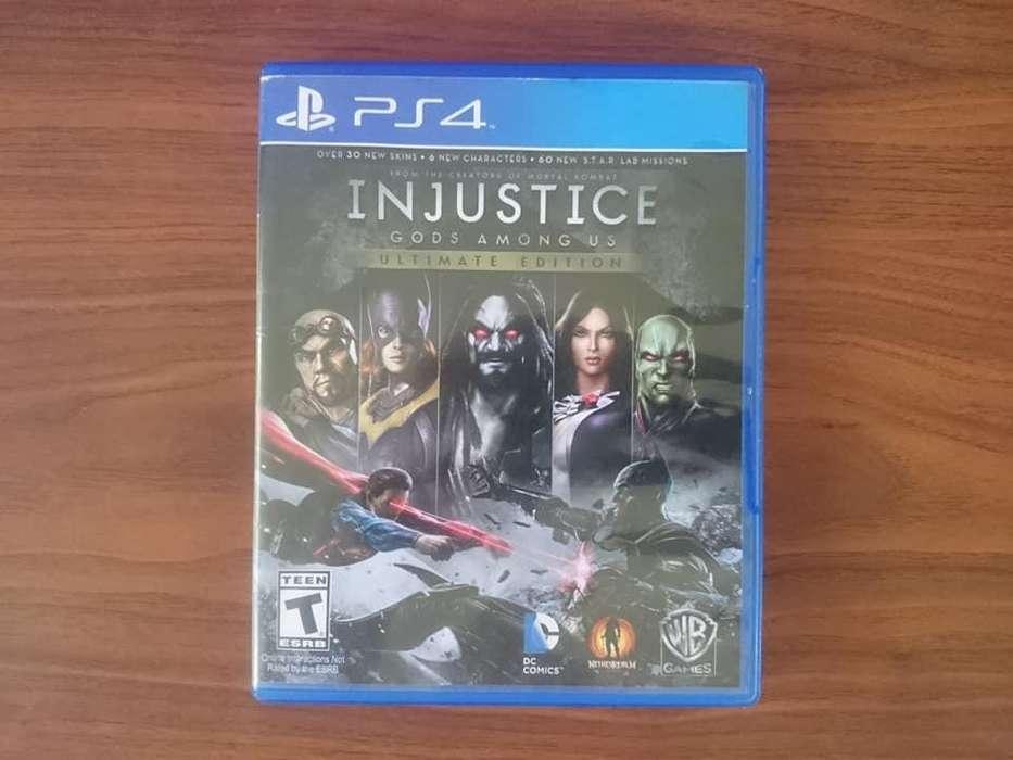Liga de la Justicia, Injustice de PS4, Play 4