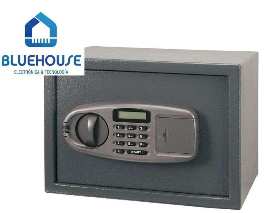 Caja de seguridad electronica de metal 35x25x25