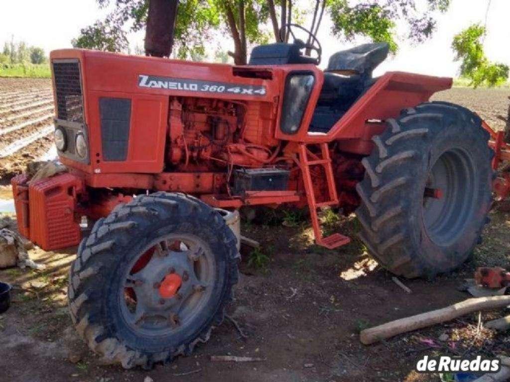 Tractor Zanello 4x4 Año 1993