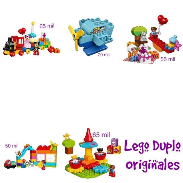 Espectaculares Legos Duplos Completos