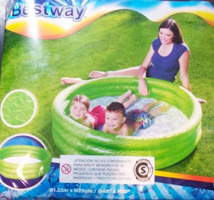 Pileta inflable para chicos 1,22 m x 25 cm