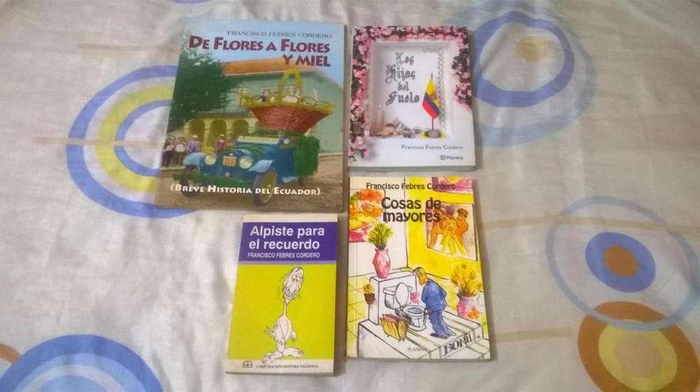 Francisco Febres Cordero - 4 Libros