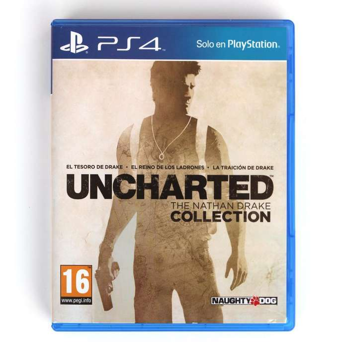 Vendo Uncharted Collection Usado