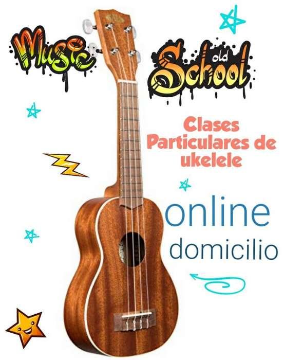 Clases de Ukelele Online Y Domicilio