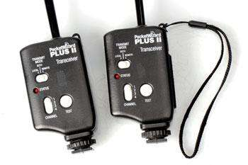 PocketWizard Plus II Transmisor y Receptor Original Pocket Wizard
