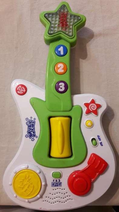 Guitarra Musica Y Luces