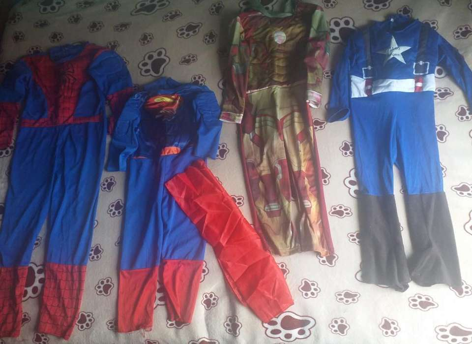 Venta D Lindos Disfraces de Super Heroes