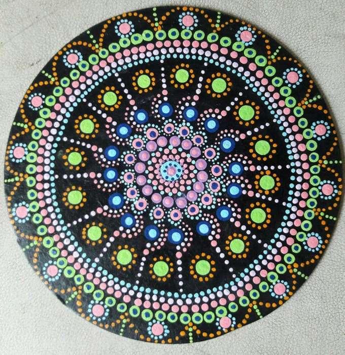 Tableros Mandala para decorar espacios (hechos por mi)