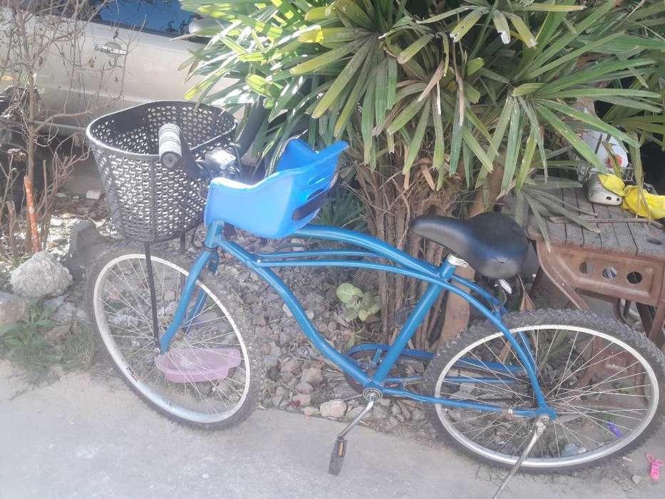 Vendo Bici Playera Rod 26