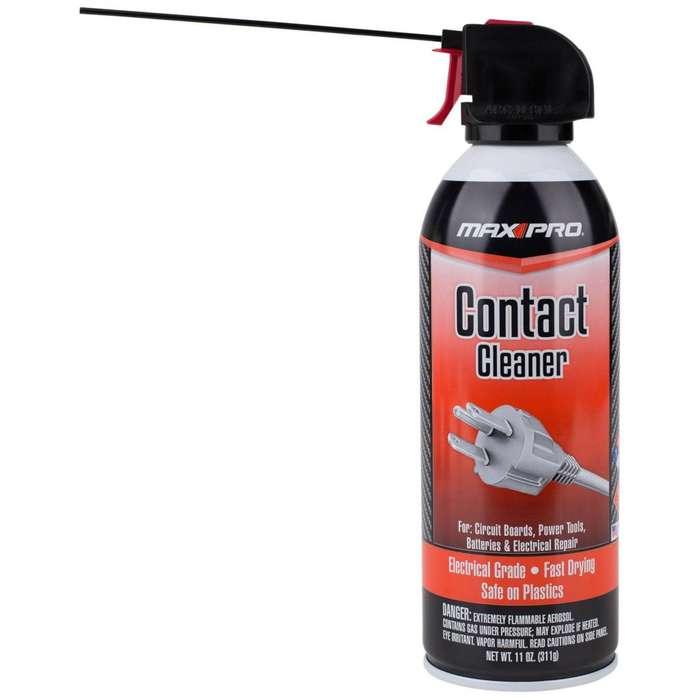 Spray Limpiador De Contactos Max Pro 11OZ.