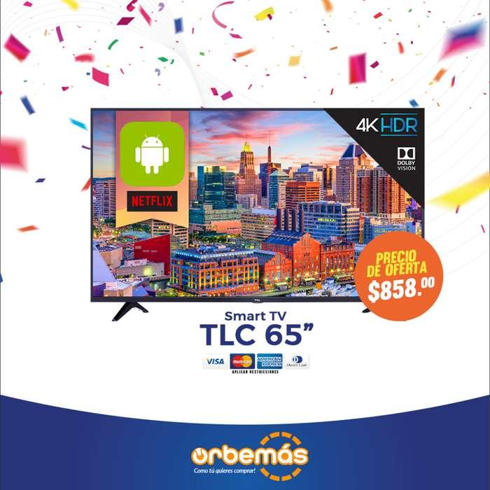 Televisor Smart TV TCL 65
