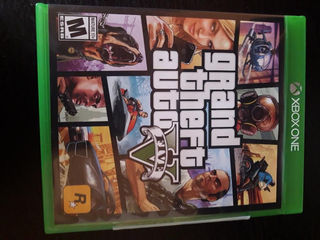 Vendo Gta 5 Xbox One