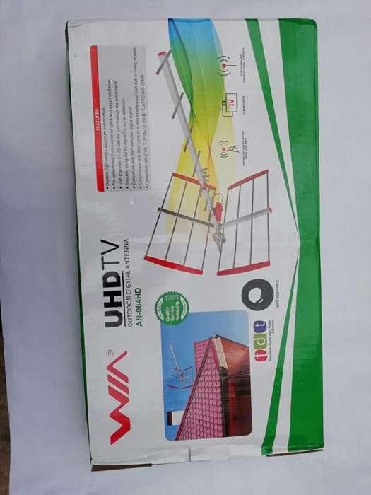 Exelente Antena de Aire para Canales Nac