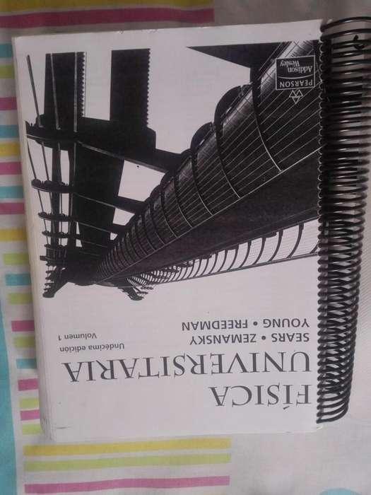 Libro Física Sears Zemasnky 11va. Edición
