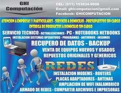 Ghi Computacion Servicio Técnico Ventas Informática Quilmes