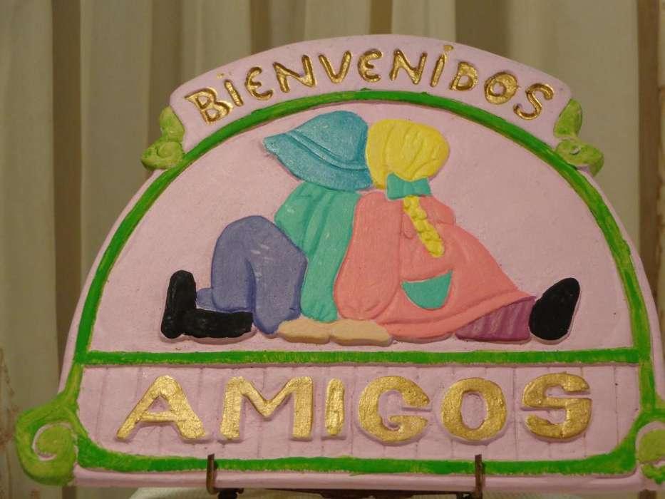 HERMOSO <strong>cartel</strong> ALUSIVO A LOS AMIGOS