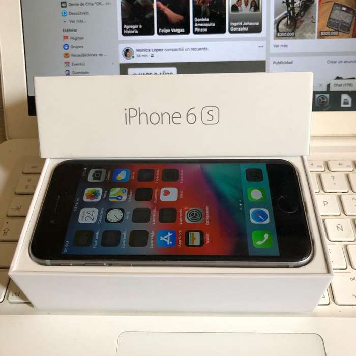 Ganga iPhone 6S 16Gb Gris Huella Legal