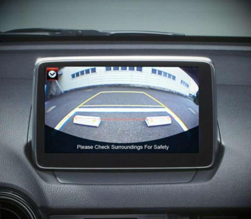 Mazda Camara de Reversa