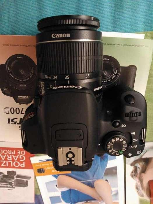 Cámara Canon Rebel Tsi / Eos 800d Kit 18-55mm