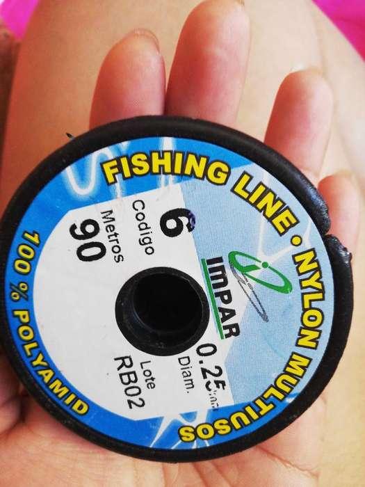 Nylon para Pesca. desde 5 Mil Pesos.