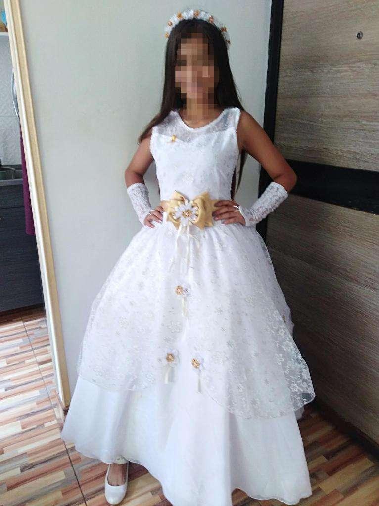 Vestido Full Primera Comunión Aproveche Ropa 1064171659