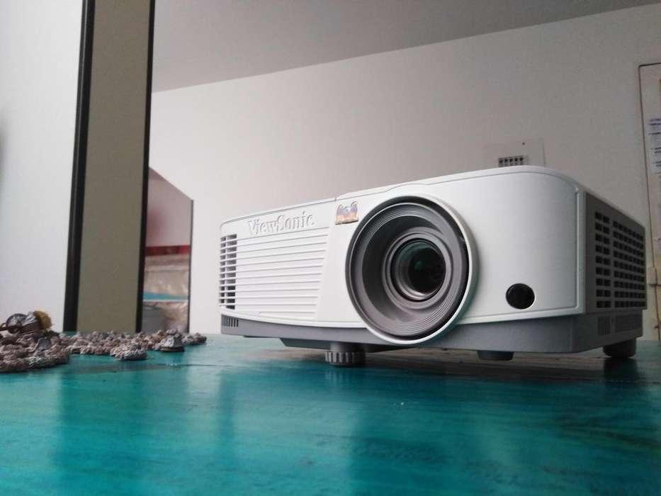 PROYECTOR VIEWSONIC PA503W - 3D - HD - 3600 LUMENES - contraste de 22.000:1-, COMO NUEVO-5 MESES DE USO- MOTIVO VIAJE