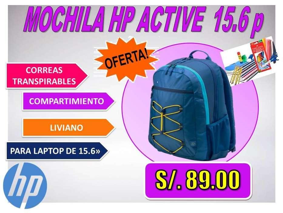 <strong>mochila</strong> HP ACTIVE 15.6 p