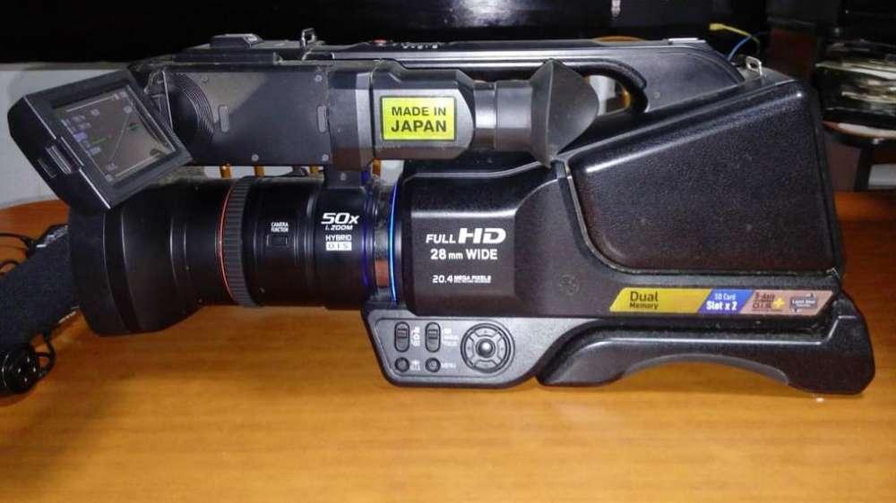 Filmadora Profesional Panasonic Mdh2