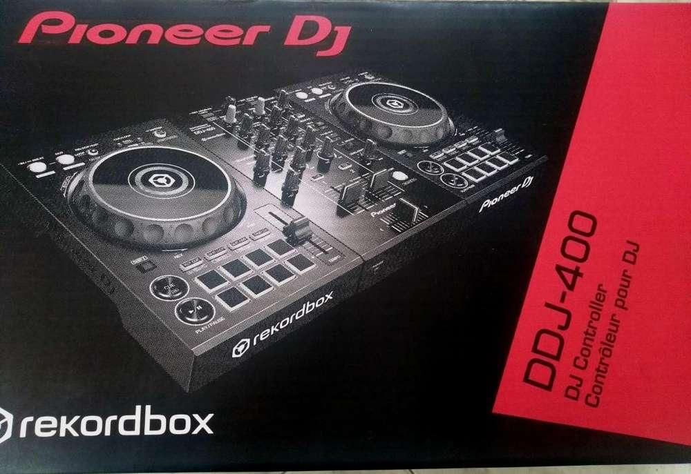Dj Controlador Pioneer Ddj 400