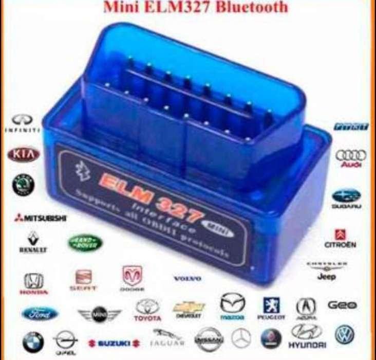 Scanner Automotriz Obd2 V2.1 Bluetooth