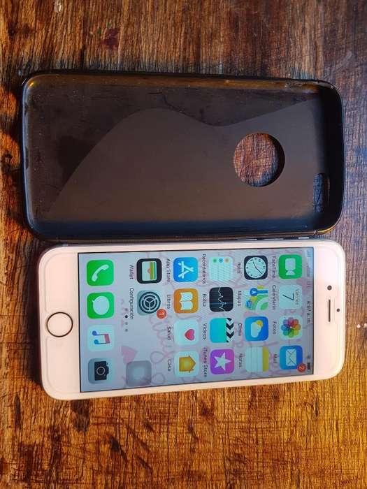 iPhone 6s 9.5 de 10 Lte Libre de Icloud