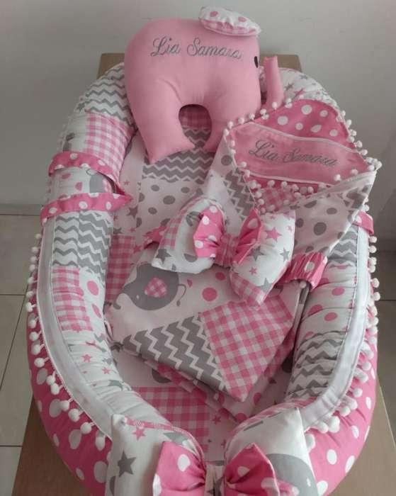 Nido Y Manta para Bebé