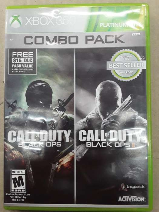 Call Of Duty Combo Pack Xbox 360