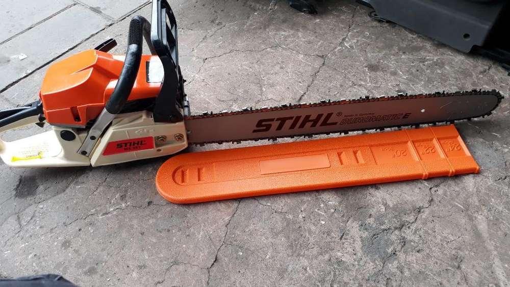 Trabajo Semi Pesado 381 Stihl Motosierra