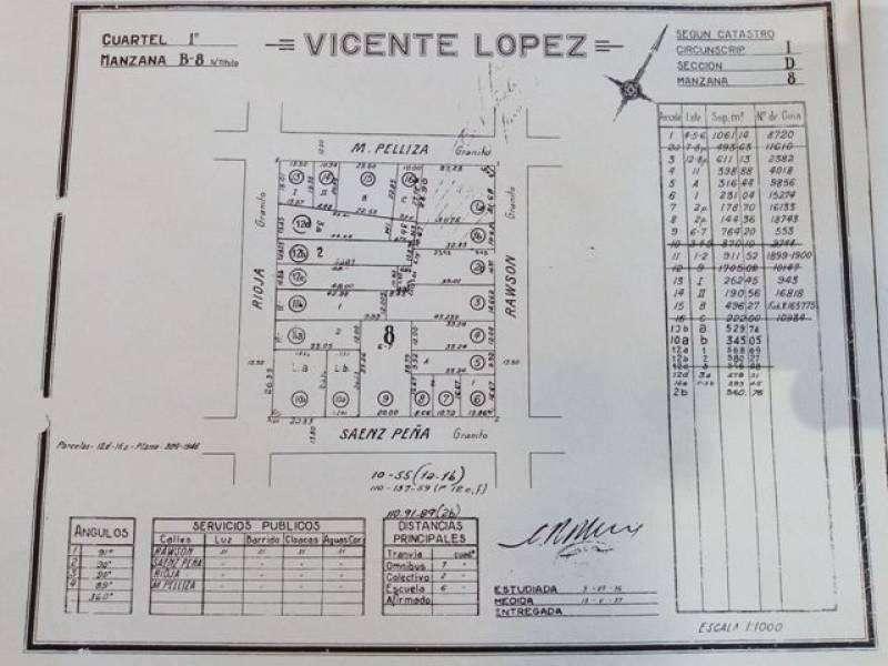 Terreno en Venta ubicado en Olivos (VTE2818_LP187200)