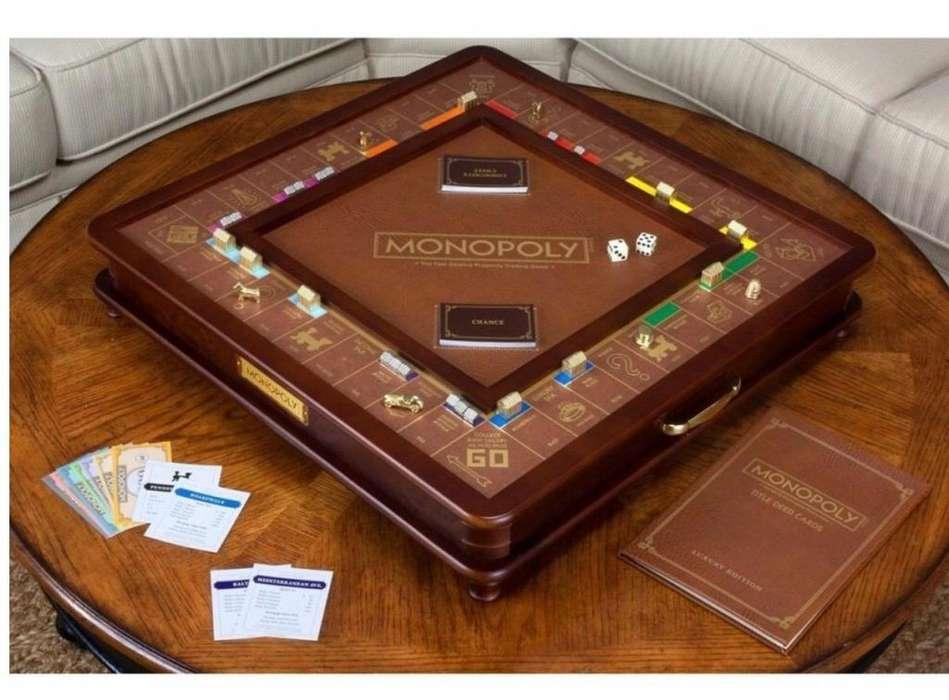 Monopolio de Lujo en madera Edicion Limitada
